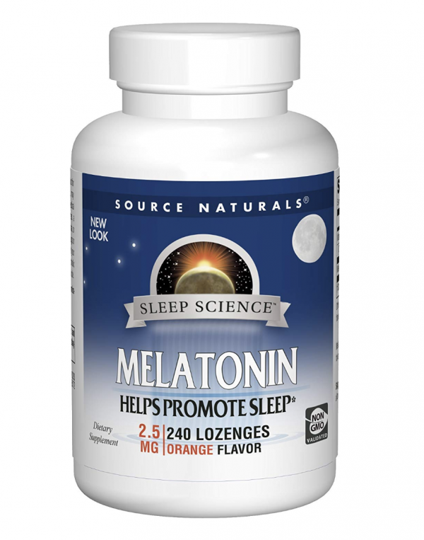 Melatonin - Sublingual - 2.5mg Orange Flavor 1