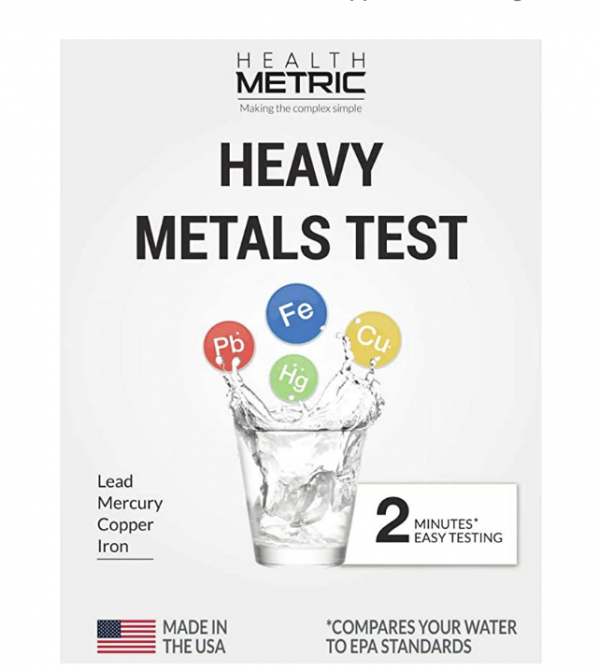 Home Water Test Kit - Lead Iron Copper and Mercury 1