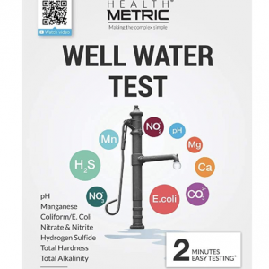 Well water test kit package front