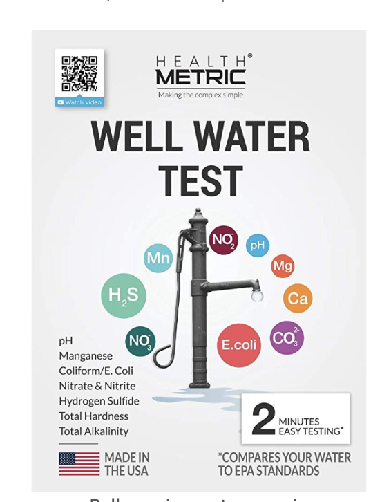 Well Water Test Kit for Drinking Water​ [NO MAILING Required]  1
