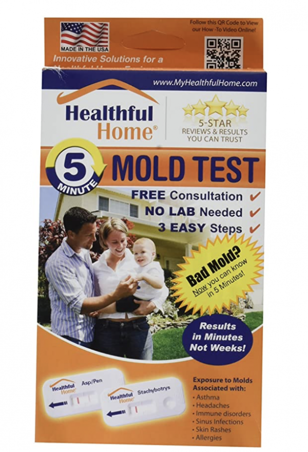 Mold Test Kit by Healthful Home 5-Minute Mold Test 1